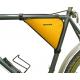 Kerékpáros táska váztáska lapmerevítéssel